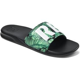 Reef One Slide Sandals Men, verde/negro